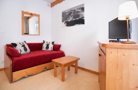 Holiday in mountain resort 2 room apartment 5 people (2P5+) - Les Balcons de la Vanoise - Termignon-la-Vanoise - Living room