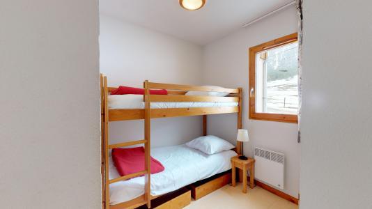 Holiday in mountain resort 2 room apartment cabin 6 people (2P6CC+) - Les Balcons de la Vanoise - Termignon-la-Vanoise - Bunk beds