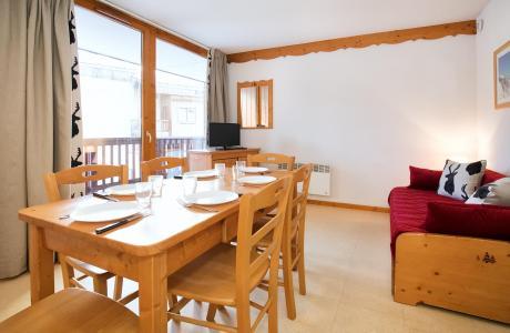 Holiday in mountain resort 2 room apartment sleeping corner 6 people (2P6CM+) - Les Balcons de la Vanoise - Termignon-la-Vanoise - Dining area