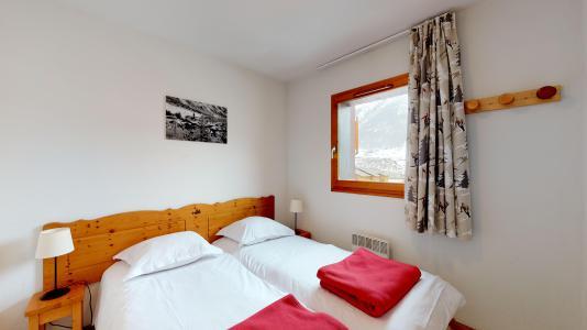 Holiday in mountain resort 2 room apartment sleeping corner 6 people (2P6CM+) - Les Balcons de la Vanoise - Termignon-la-Vanoise - Single bed
