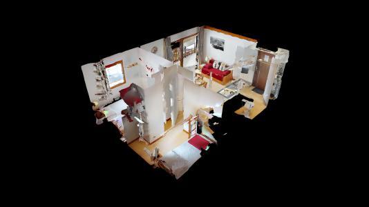 Holiday in mountain resort 2 room apartment cabin 6 people (2P6CC+) - Les Balcons de la Vanoise - Termignon-la-Vanoise - Plan
