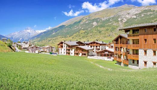 Vacances en montagne Les Balcons de Val Cenis Village - Val Cenis - Extérieur été