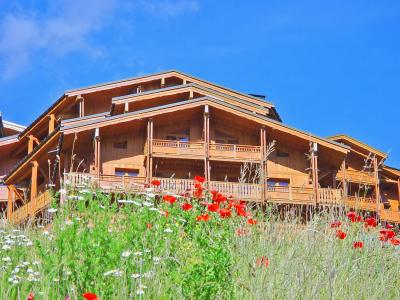 Rental Val Thorens : Les Balcons de Val Thorens summer