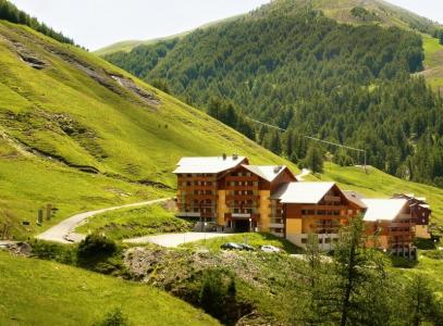 Location au ski Les Balcons Du Soleil - Val d'Allos - Extérieur été