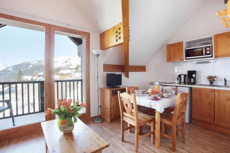Vacances en montagne Les Balcons du Soleil - Saint-François Longchamp - Table