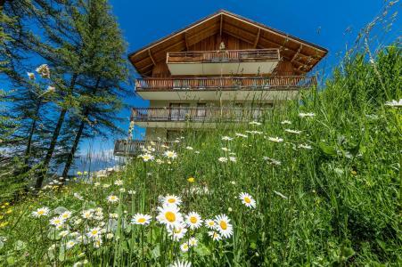Location au ski Les Chalets de Bois Méan - Les Orres - Extérieur été