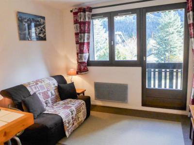 Holiday in mountain resort 1 room apartment 2 people (15) - Les Chalets de Champraz - Chamonix - Living room