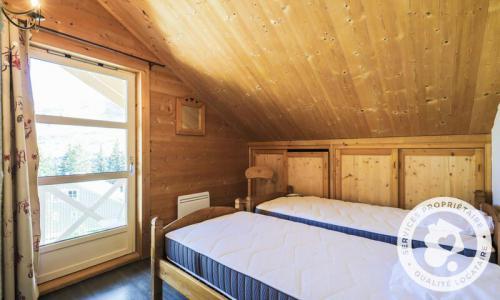 Wakacje w górach Domek górski 7 pokojowy 12 osób (180m²) - Les Chalets de Flaine Hameau - Maeva Home - Flaine - Pokój na poddaszu