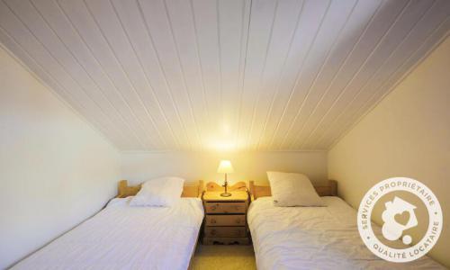 Wakacje w górach Domek górski 4 pokojowy 8 osób (Confort 110m²) - Les Chalets de Flaine Hameau - Maeva Home - Flaine - Łóżkiem