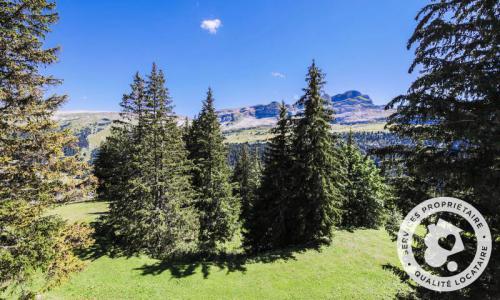 Wakacje w górach Domek górski 4 pokojowy 8 osób (Confort 110m²) - Les Chalets de Flaine Hameau - Maeva Home - Flaine - Na zewnątrz latem