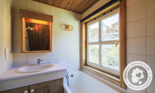 Wakacje w górach Domek górski 3 pokojowy 8 osób (Confort 70m²) - Les Chalets de Flaine Hameau - Maeva Home - Flaine - Łazienka