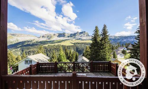 Wakacje w górach Domek górski 3 pokojowy 8 osób (Confort 70m²) - Les Chalets de Flaine Hameau - Maeva Home - Flaine - Na zewnątrz latem