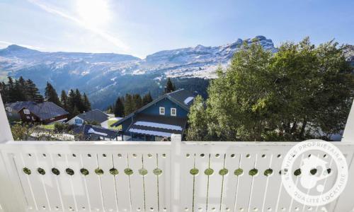 Wakacje w górach Domek górski 7 pokojowy 12 osób (Sélection 145m²) - Les Chalets de Flaine Hameau - Maeva Home - Flaine - Na zewnątrz latem