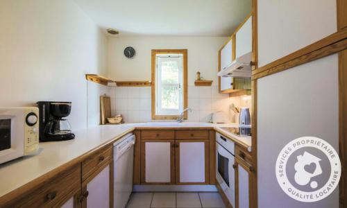 Wakacje w górach Domek górski 6 pokojowy 10 osób (Confort 125m²) - Les Chalets de Flaine Hameau - Maeva Home - Flaine - Aneks kuchenny