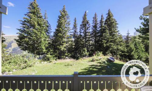 Wakacje w górach Domek górski 4 pokojowy 8 osób (Sélection 110m²) - Les Chalets de Flaine Hameau - Maeva Home - Flaine - Na zewnątrz latem