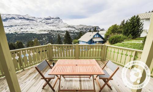 Wakacje w górach Domek górski 4 pokojowy 6 osób (Prestige 70m²) - Les Chalets de Flaine Hameau - Maeva Home - Flaine - Taras