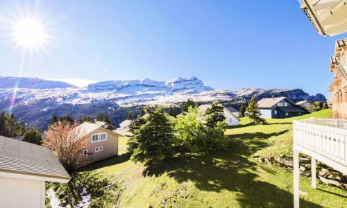 Wakacje w górach Domek górski 5 pokojowy 10 osób (Sélection 110m²) - Les Chalets de Flaine Hameau - Maeva Home - Flaine - Na zewnątrz latem