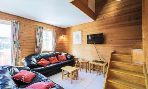 Wakacje w górach Domek górski 4 pokojowy 8 osób (Confort 84m²) - Les Chalets de Flaine Hameau - Maeva Home - Flaine - Na zewnątrz latem