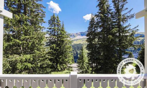 Wakacje w górach Domek górski 4 pokojowy kabina dla 8 osób (Sélection 84m²) - Les Chalets de Flaine Hameau - Maeva Particuliers - Flaine - Na zewnątrz latem