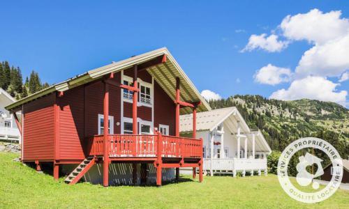 Wakacje w górach Domek górski 3 pokojowy kabina dla 6 osób (Confort 70m²) - Les Chalets de Flaine Hameau - Maeva Particuliers - Flaine - Na zewnątrz latem