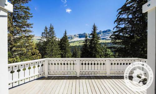 Wakacje w górach Domek górski 4 pokojowy 8 osób (Confort 110m²) - Les Chalets de Flaine Hameau - Maeva Particuliers - Flaine - Na zewnątrz latem
