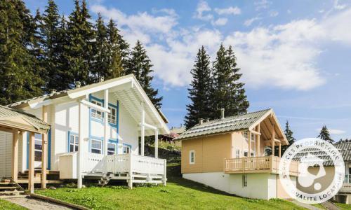 Wakacje w górach Domek górski 4 pokojowy kabina dla 8 osób (Sélection 70m²) - Les Chalets de Flaine Hameau - Maeva Particuliers - Flaine - Na zewnątrz latem