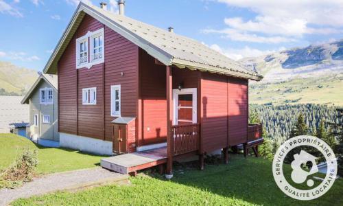 Wakacje w górach Domek górski 3 pokojowy kabina dla 8 osób (Confort 70m²) - Les Chalets de Flaine Hameau - Maeva Particuliers - Flaine - Na zewnątrz latem