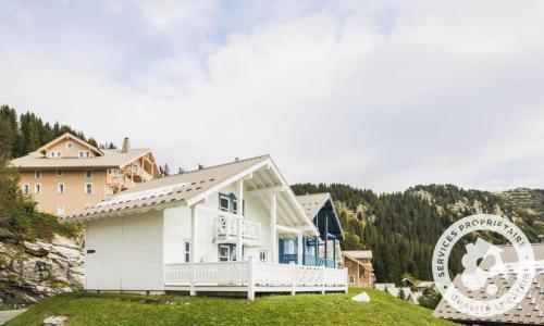 Wakacje w górach Domek górski 5 pokojowy 8 osób (Prestige 110m²) - Les Chalets de Flaine Hameau - Maeva Particuliers - Flaine - Na zewnątrz latem