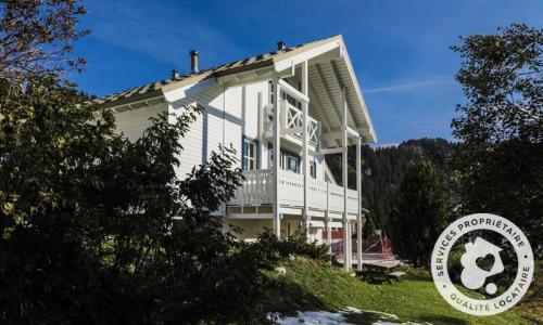 Wakacje w górach Domek górski triplex 7 pokojowy  dla 12 osób (Sélection 145m²) - Les Chalets de Flaine Hameau - Maeva Particuliers - Flaine - Na zewnątrz latem