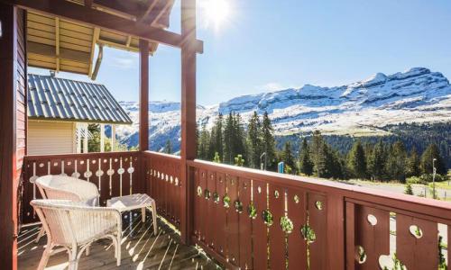 Wakacje w górach Domek górski 4 pokojowy 8 osób (Confort 84m²) - Les Chalets de Flaine Hameau - Maeva Particuliers - Flaine