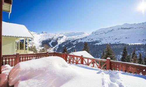 Wakacje w górach Domek górski 3 pokojowy kabina dla 8 osób (Confort 70m²) - Les Chalets de Flaine Hameau - Maeva Particuliers - Flaine