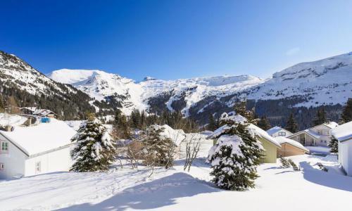 Wakacje w górach Domek górski 3 pokojowy na poddaszu  dla 8 osób (Confort 84m²) - Les Chalets de Flaine Hameau - Maeva Particuliers - Flaine