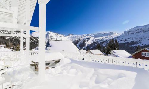 Wakacje w górach Domek górski 5 pokojowy 8 osób (Prestige 110m²) - Les Chalets de Flaine Hameau - Maeva Particuliers - Flaine