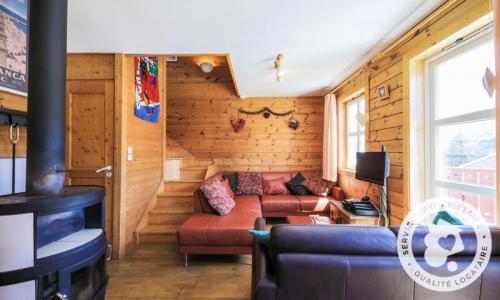 Wakacje w górach Domek górski 3 pokojowy kabina dla 6 osób (Confort 70m²) - Les Chalets de Flaine Hameau - Maeva Particuliers - Flaine - Pokój gościnny