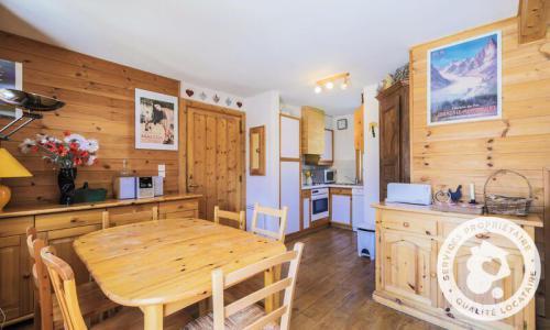 Wakacje w górach Domek górski 3 pokojowy kabina dla 6 osób (Confort 70m²) - Les Chalets de Flaine Hameau - Maeva Particuliers - Flaine - Stołem