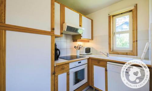 Wakacje w górach Domek górski 3 pokojowy kabina dla 8 osób (Confort 70m²) - Les Chalets de Flaine Hameau - Maeva Particuliers - Flaine - Aneks kuchenny