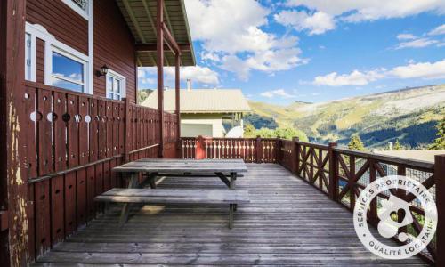 Wakacje w górach Domek górski 3 pokojowy kabina dla 8 osób (Confort 70m²) - Les Chalets de Flaine Hameau - Maeva Particuliers - Flaine - Balkon