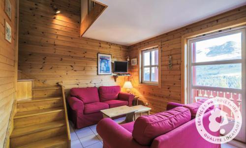 Wakacje w górach Domek górski 3 pokojowy kabina dla 8 osób (Confort 70m²) - Les Chalets de Flaine Hameau - Maeva Particuliers - Flaine - Pokój gościnny