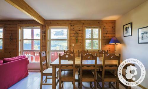 Wakacje w górach Domek górski 3 pokojowy kabina dla 8 osób (Confort 70m²) - Les Chalets de Flaine Hameau - Maeva Particuliers - Flaine - Stołem