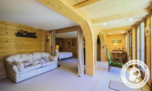 Wakacje w górach Domek górski 4 pokojowy 8 osób (Confort 110m²) - Les Chalets de Flaine Hameau - Maeva Particuliers - Flaine - Stołem