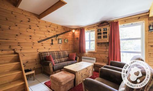 Wakacje w górach Domek górski 4 pokojowy kabina dla 8 osób (Sélection 84m²) - Les Chalets de Flaine Hameau - Maeva Particuliers - Flaine - Pokój gościnny