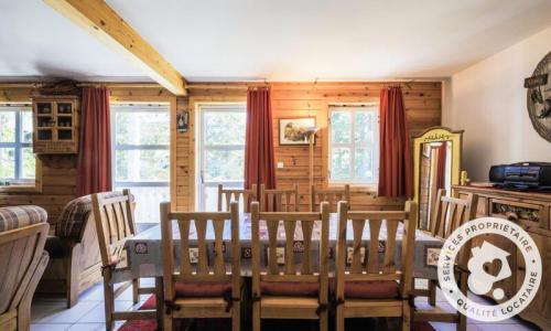 Wakacje w górach Domek górski 4 pokojowy kabina dla 8 osób (Sélection 84m²) - Les Chalets de Flaine Hameau - Maeva Particuliers - Flaine - Stołem