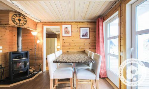 Wakacje w górach Domek górski 5 pokojowy 8 osób (Prestige 110m²) - Les Chalets de Flaine Hameau - Maeva Particuliers - Flaine - Pokój gościnny