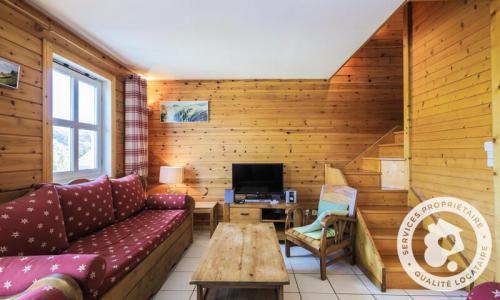Wakacje w górach Domek górski 6 pokojowy 10 osób (Confort 125m²) - Les Chalets de Flaine Hameau - Maeva Particuliers - Flaine - Pokój gościnny