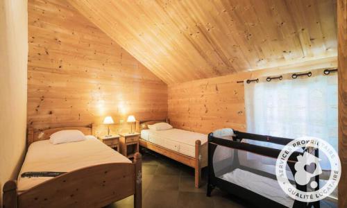 Wakacje w górach Domek górski 7 pokojowy 12 osób (Exclusive 180m²) - Les Chalets de Flaine Hameau - Maeva Particuliers - Flaine - Pokój na poddaszu