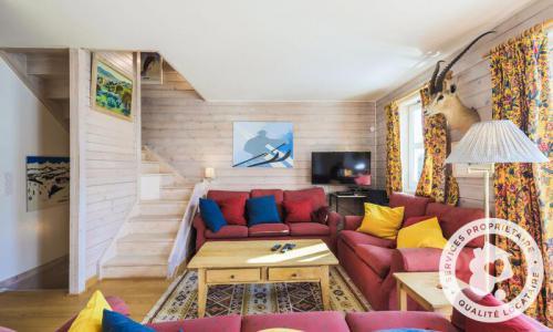 Wakacje w górach Domek górski triplex 7 pokojowy  dla 12 osób (Sélection 145m²) - Les Chalets de Flaine Hameau - Maeva Particuliers - Flaine - Pokój gościnny