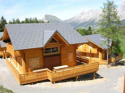 Summer accommodation Les Chalets de l'Eden