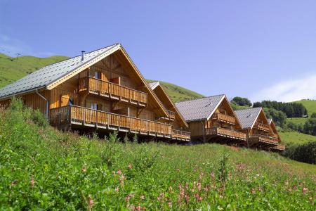 Rental Les Chalets de la Fontaine summer