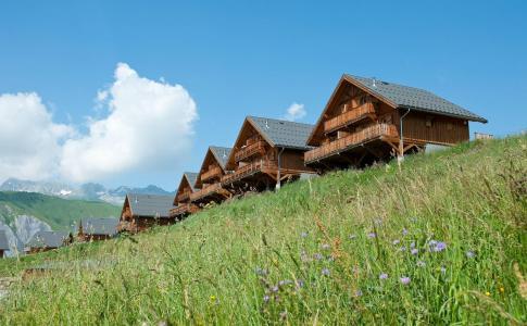 Vacances en montagne Les Chalets de la Fontaine - Saint Jean d'Arves - Extérieur été