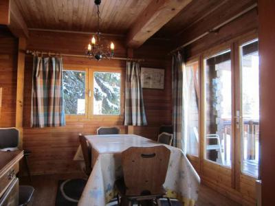 Vacances en montagne Chalet 4 pièces 7 personnes (8) - Les Chalets de la Forêt - La Plagne - Salle à manger